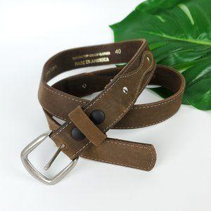 Genuine Leather 211 Horsetown Handmade Belt